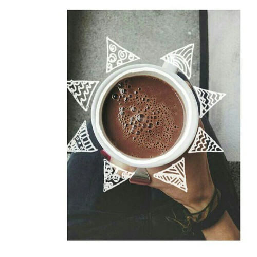 WeHeartIt - Benefit of hot chocolate
