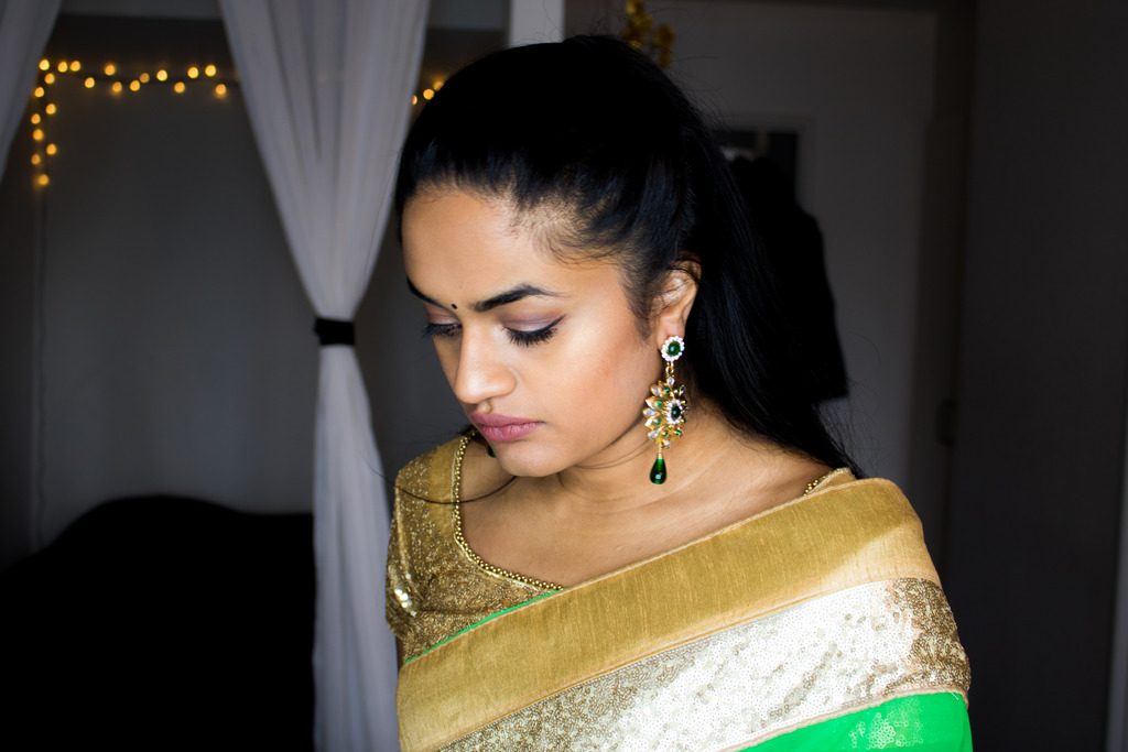 My Easy Hairstyles For Traditional Saree