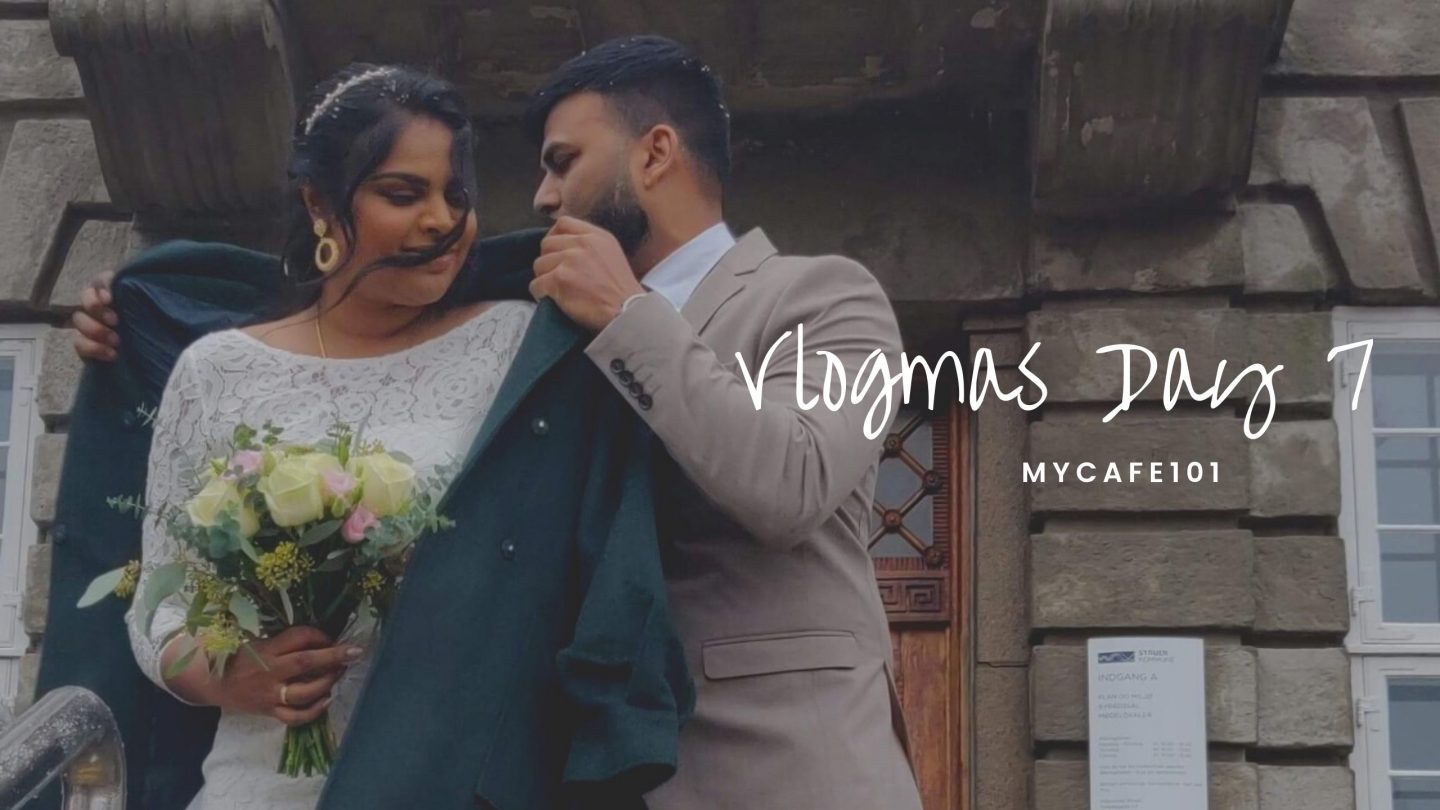 They are now marrried! || Vlogmas Day 7