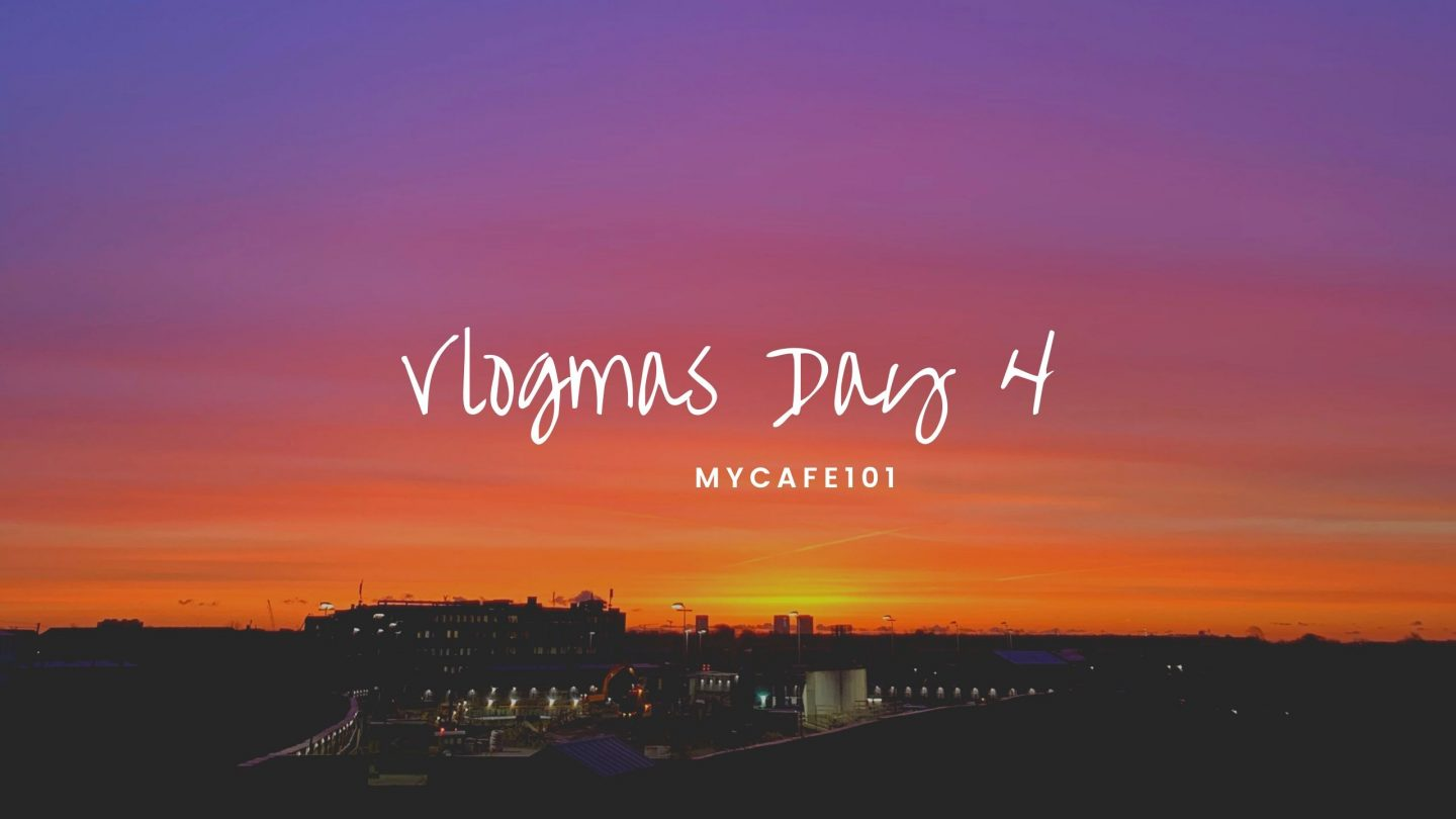 Life is too short to spend it at war with yourself || Vlogmas Day 4