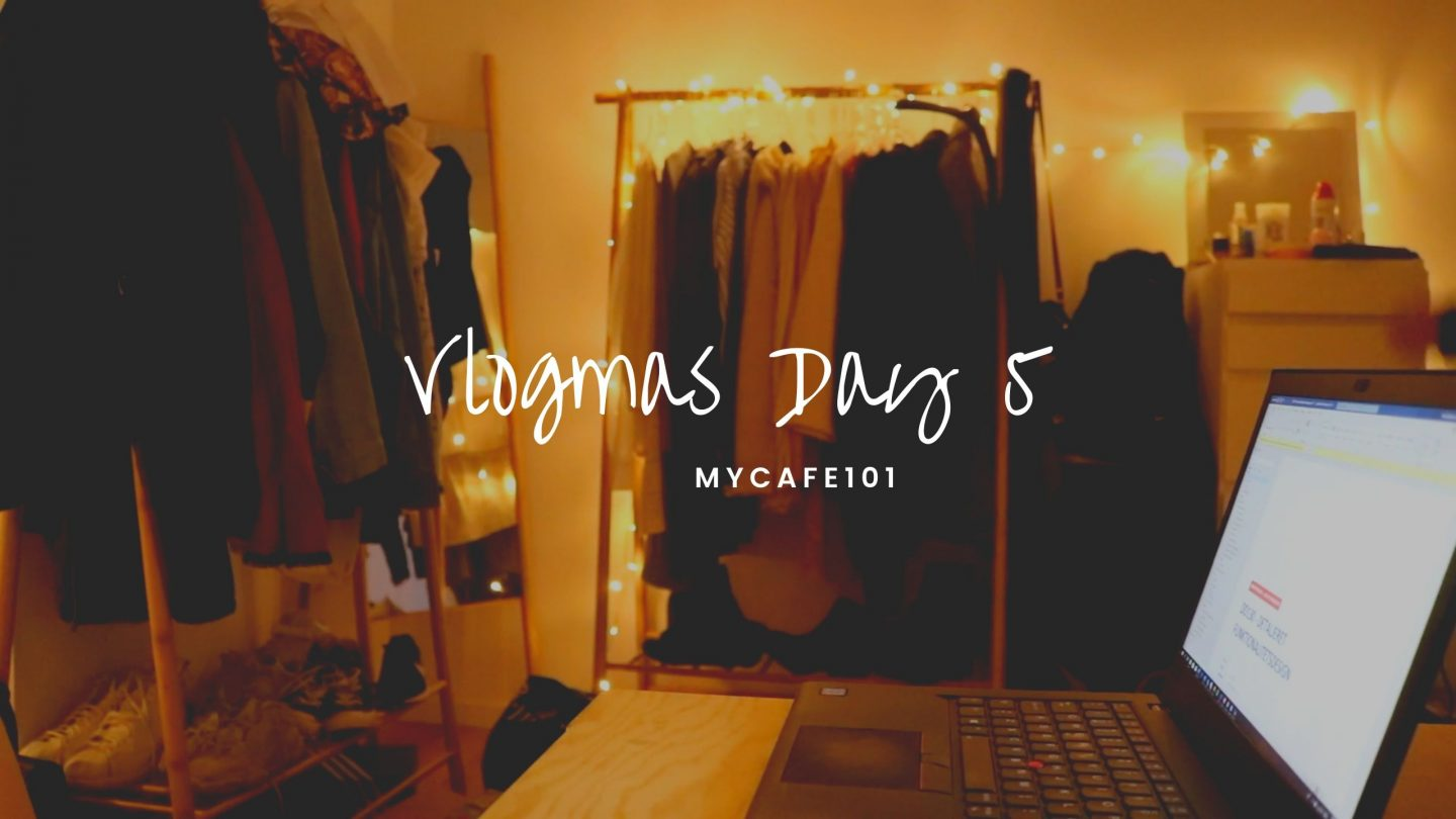 Work From Home || Vlogmas Day 5