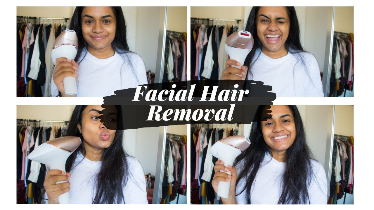 Facial Hair Removal Routine